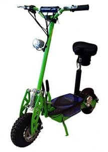 "Super Turbo 1000watt Elite 36v Electric Scooter "" Neon Green"""