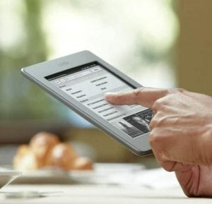 """Kindle Touch, Wi-Fi, 6"""" E Ink Display"""