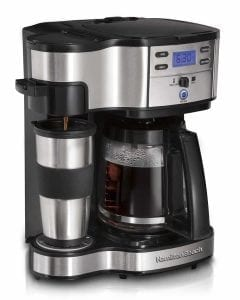 Hamilton Beach 49980A Coffee Brewer & Full Pot Coffee Maker