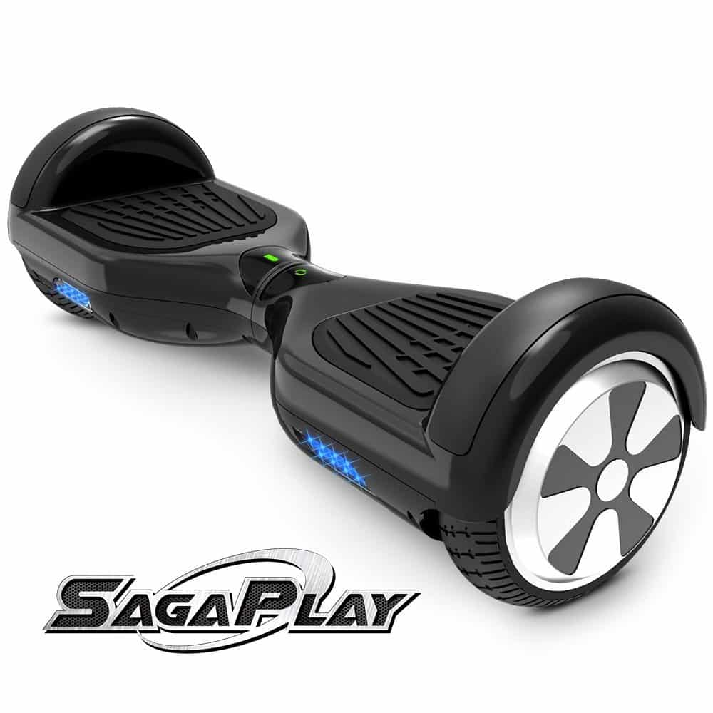 SagaPlay F1 Motorized 2 Wheel Self Balancing Hoverboard