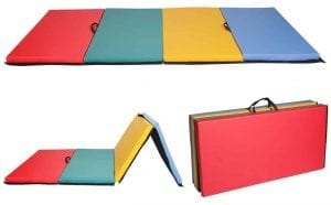New Mixed Thick Folding Panel Gymnastics Mat