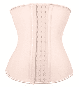 Lover-Beauty Women's Latex Underbust Corset Waist Training Cincher 9 Steel Boned