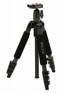 Slik Mini II 43.3IN Compact 4 Section Tripod