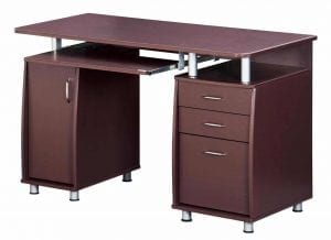 TECHNI MOBILI Complete Workstation Computer Desks with Storage