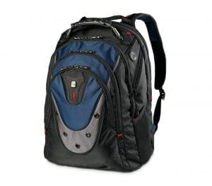 SwissGear Blue Ibex Laptop Backpack
