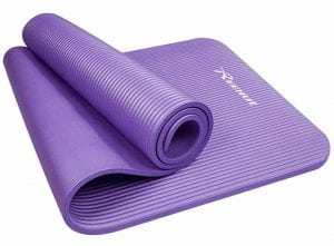Reehut Extra Thick High Density NBR Exercise Yoga Mat