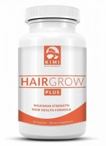 Hair Grow Plus - Scientifically Formulated Hair Growth Supplement with Biotin