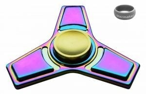 Mermaker Tri-Spinner Fidget Toy for Relieving Anxiety and ADHD