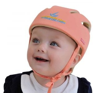 Dotbaby Toddlers Daily Safety Helmet Head Protective Hat (Orange)