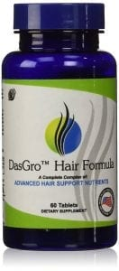 DasGro Hair Growth Vitamins with Biotin and DHT Blocking Ingredients
