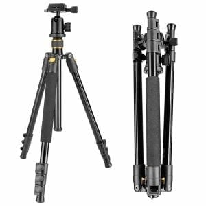 Neewer Portable Aluminum Alloy Camera Tripod