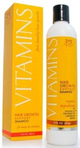 Vitamins Hair Growth Support Shampoo