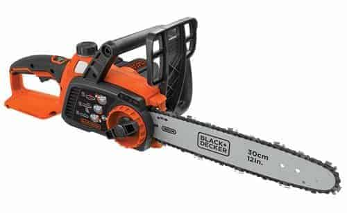 BLACK+DECKER LCS1240 40V MAX Lithium-Ion Chainsaw, 12""