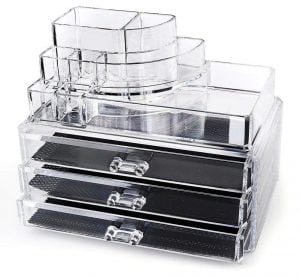 Home-It Clear Acrylic Makeup Organizer