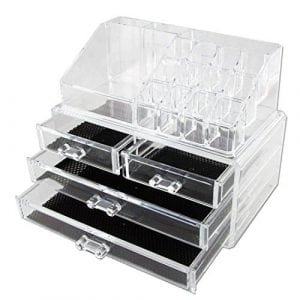 Vencer Jewelry & Makeup Storage Display Boxed & Organizer