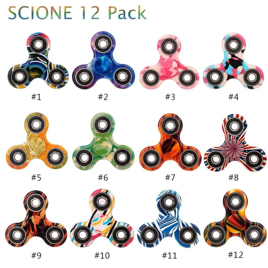 SCIONE Fidgets spinners for Adults Children