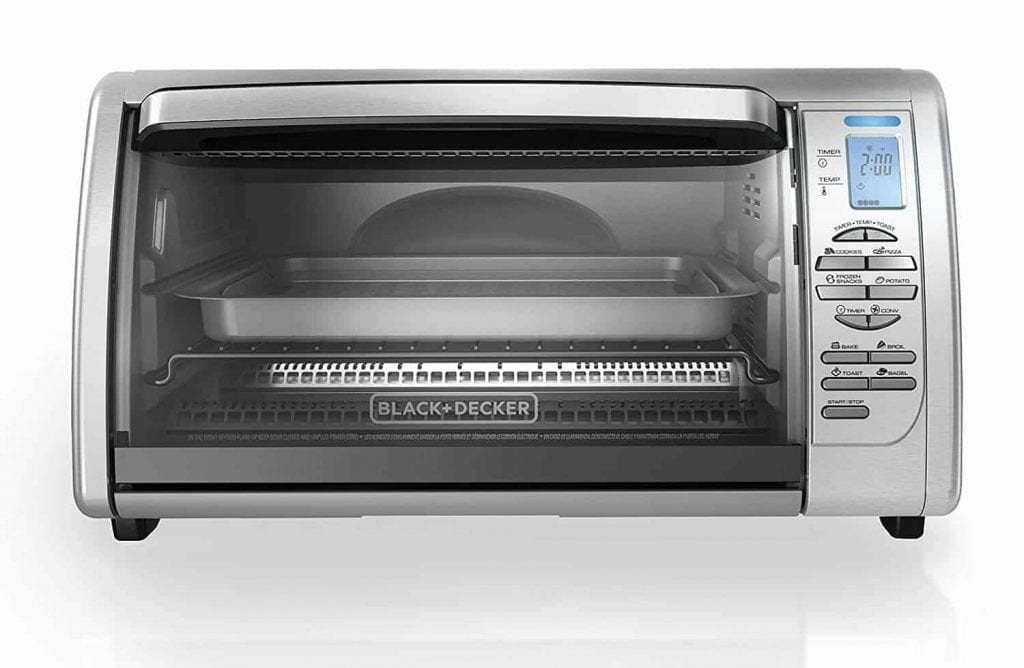 Black + Decker CTO6335S Digital Convection Oven Toaster