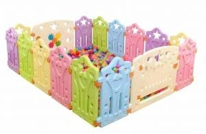 Jiyaru Baby Playpen Kids Panel Play Center Yard