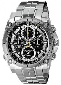 Bulova Men's Stainless Steel Chronograph Watch