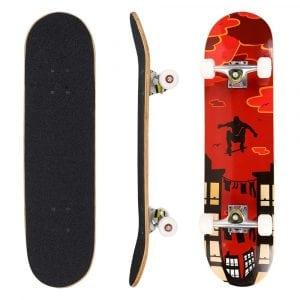 Ancheer 31-Inch Pro Complete Skateboard