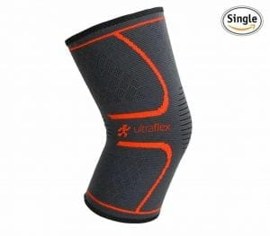 Ultra Flex Athletics Knee Compression Sleeve Support for Running
