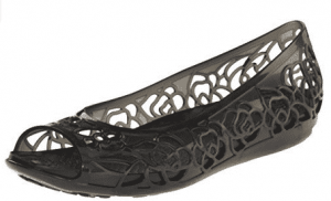 Crocs Women's Isabela Jelly Flat Shoes