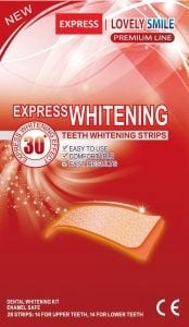 Lovely Smile Premium Line Whitening Strips