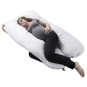 Lavish Home U-Shaped Pregnancy Pillow