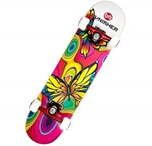 Punisher Butterfly Jive Complete Skateboard