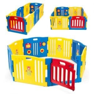 kidzone Baby Playpen Kids Safety Play Center