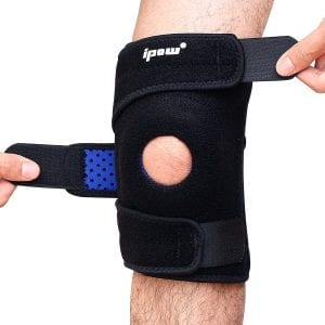 Ipow Breathable Knee Support with Stabilizer and Neoprene Knee Pads