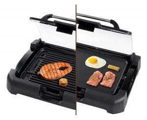 Secura GR-1503XL 1700W Electric Reversible Grill