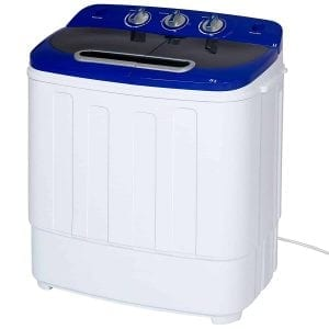 Best Choice Products Portable Mini Compact Twin Tub Washing Machine