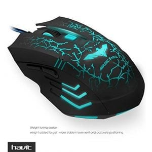HAVIT HV-MS672 Ergonomic Wired Mouse