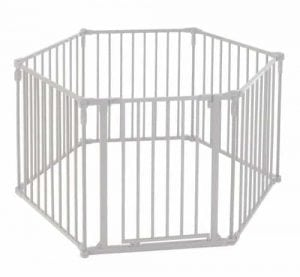 North State Superyard 3-in-1 Metal Gate Playard