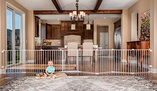 Regalo Super Wide Gate and Playard