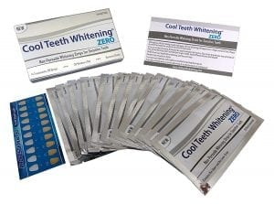Cool Teeth Whitening Zero Peroxide Strips Whitening Strip