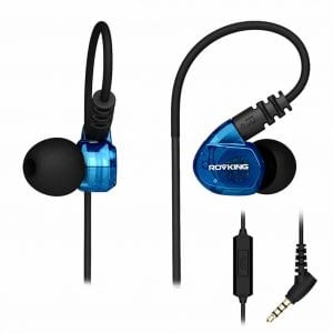 Rovking Sweatproof Sport Headphones