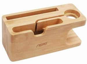 Apple Watch Stand, Aerb Bamboo Wood Charging Dock