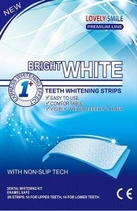 Lovely Smile Premium Line 28 Teeth Whitening Strips Kit