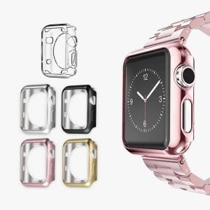 UMTELE Plated TPU Apple Watch Case