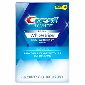 Crest 3D White Classic Vivid Dental Whitening Kit