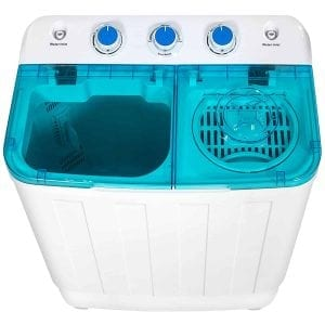 Best Choice Products Mini Twin Tub Portable Compact Washing Machine