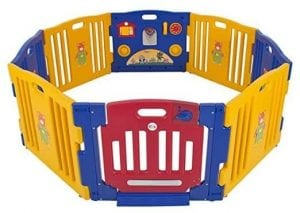 Best Choice Products Baby Playpen 8 panels Playard