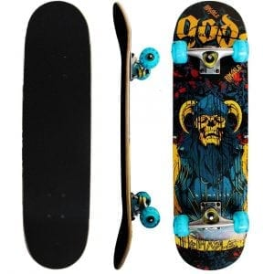 Rimable Complete Maple Skateboard