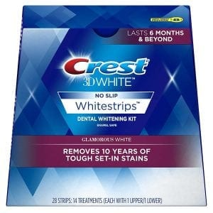 Crest 3D White Lux WhiteStrip Teeth Whitening Kit