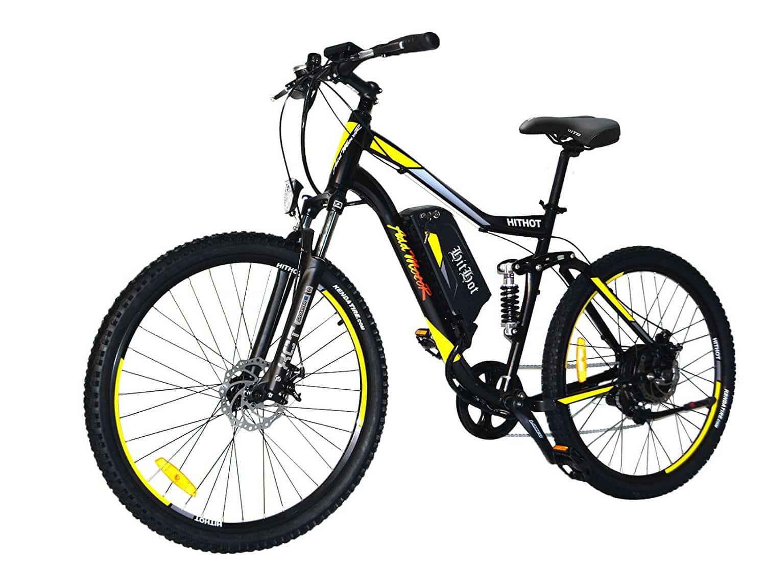 Top 10 best electric mountain bike reviews in 2018 for Bicycles with electric motors