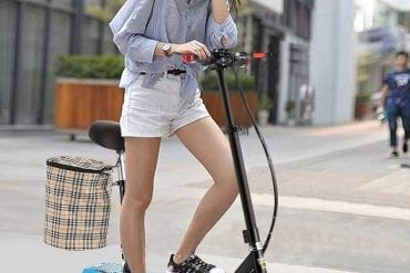 Adult Electric Scooter with Seat