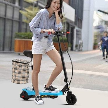 Adult electric scooters with seat