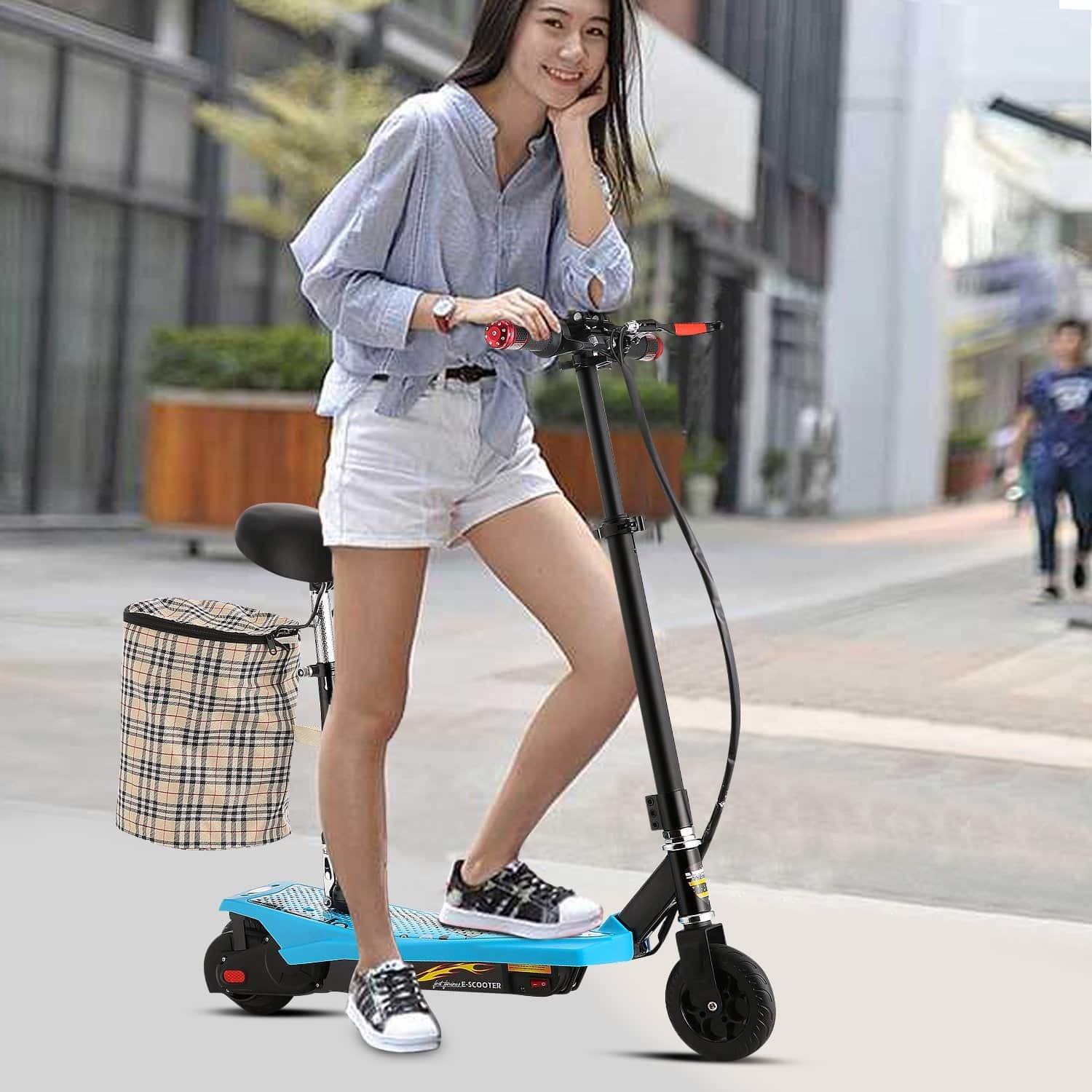 powerful electric scooters with seat for adults ultimate. Black Bedroom Furniture Sets. Home Design Ideas